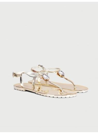 Ipekyol Sandalet Altın